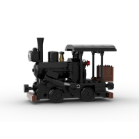 [Instructions] Single-Truck Climax Locomotive