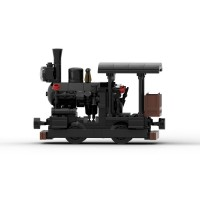 [Instructions] Single-Truck Heisler Locomotive