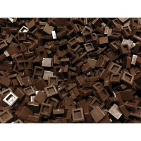 1x1 Tile - Dark Brown