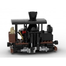 [Instructions] Single-Truck Shay Locomotive