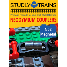 Magnetic Train Coupler - Retail Packaging